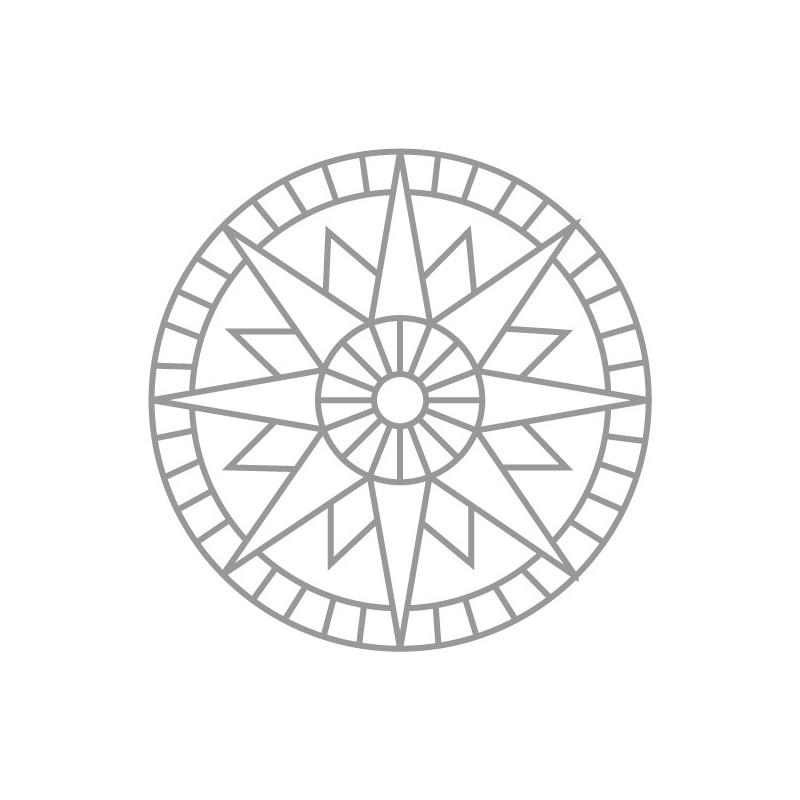 vente en ligne de trame motif rosace pour b ton matric. Black Bedroom Furniture Sets. Home Design Ideas