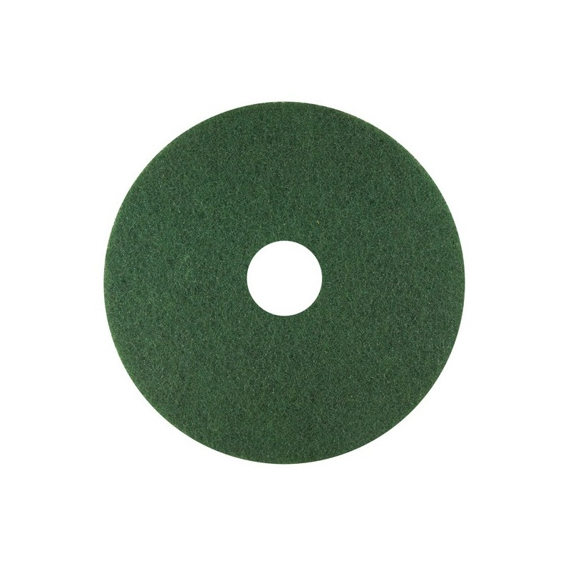 Pad abrasif - Vert (nettoyage) - Ø 400 mm