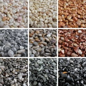 Granulats de marbre - Tapis de pierre