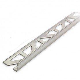 Profilé de finition droit en aluminium - 8 mm