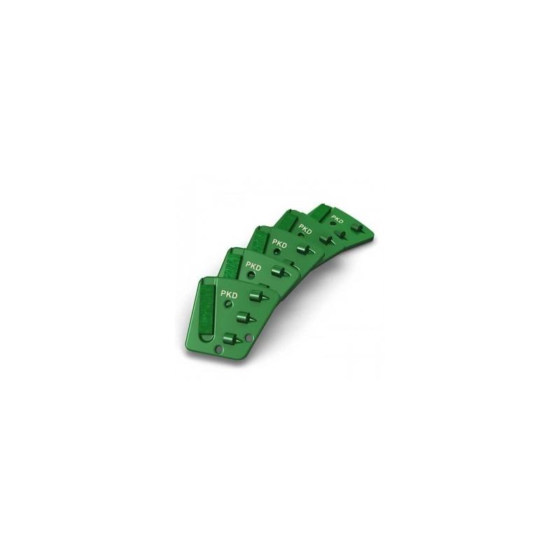 Segments de ponçage diamant - Supports moyens