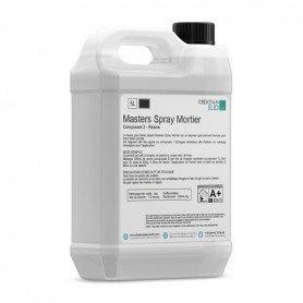 Résine pour béton projeté (Masters Spray Mortier - Composant 2)