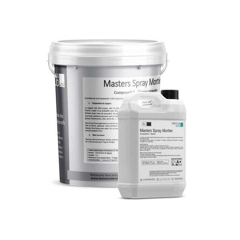 Béton projeté - Masters Spray Mortier