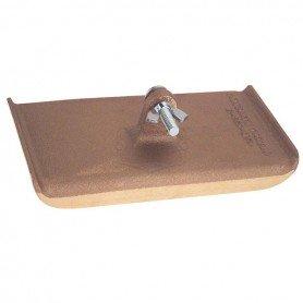 Fer à bordures en bronze pour manche