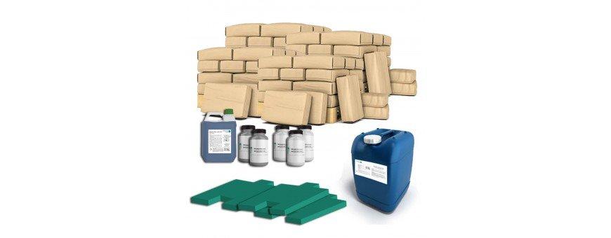 Kits complets de béton imprimé vertical