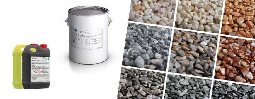Kits complets pour moquette de pierre