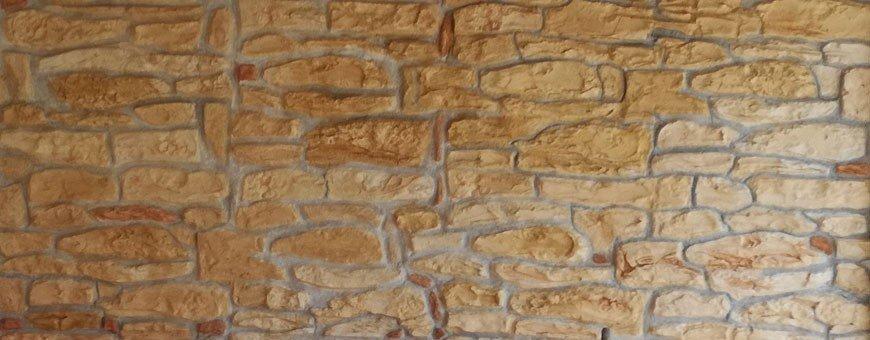 Béton imprimé mural pour la réalisation de murs et de facades