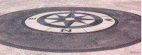 Empreintes circulaires pour béton imprimé