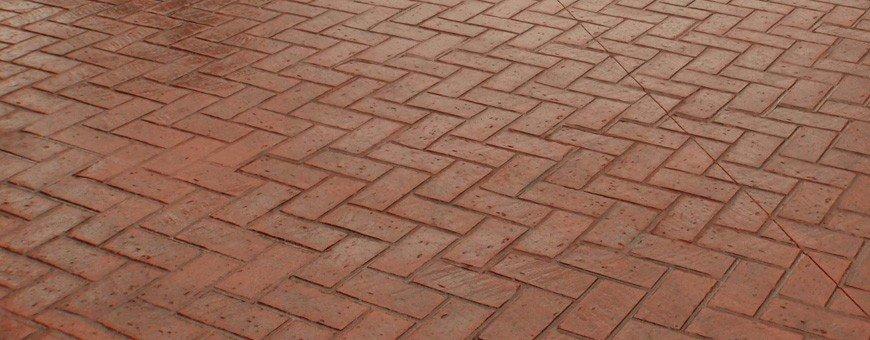 Empreintes pour béton marqué - Motif Briques