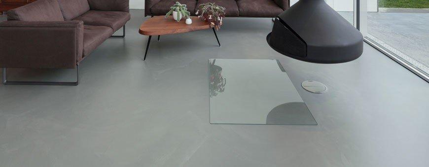 Béton lissé - Application rapide, il est idéal pour la réalisation de grandes superficies